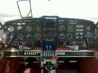 1973 Piper Aztec Long Range Fuel
