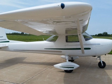1964 Cessna 150D Single Engine Airplane, 185 SMOH for sale