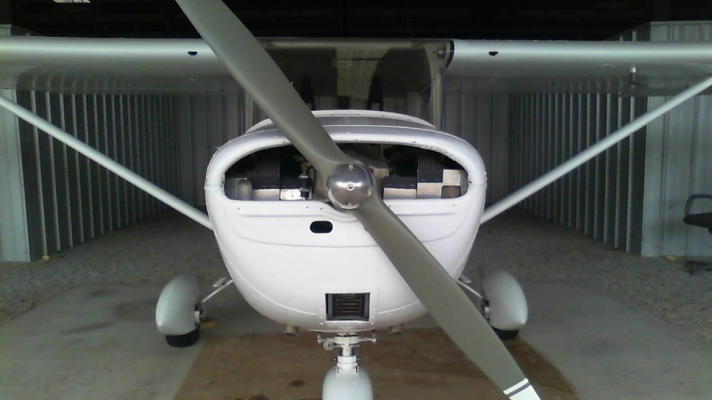 1964 Cessna 150D Single Engine Airplane, 185 SMOH