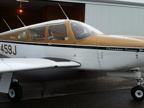 Always hangared 1968 Piper Cherokee Arrow aircraft for sale