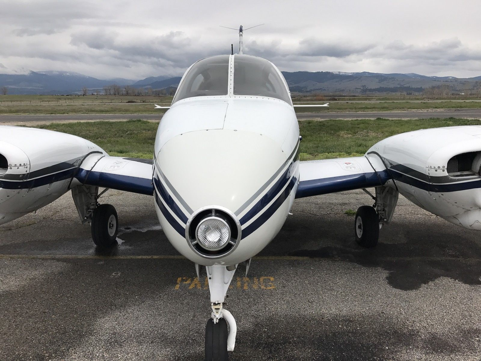 Low hours engines 1959 beechcraft travel air airplane for sale for Aircraft motors for sale