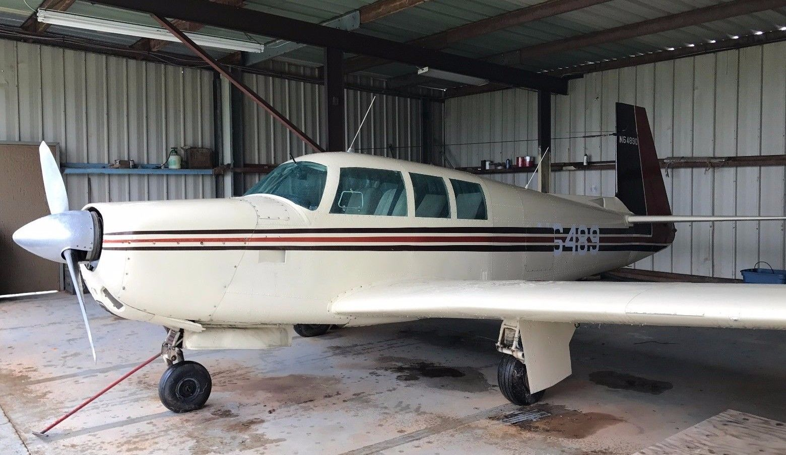 No Damage 1967 Mooney M20f Executive Aircrft For Sale