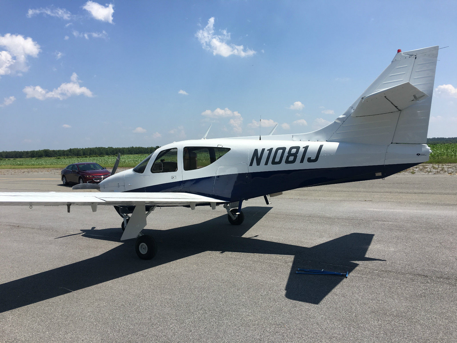 Overhauled 1973 Rockwell Commander aircraft for sale