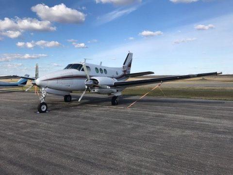 Overhauled engine 1966 Beechcraft Queen Aircraft for sale