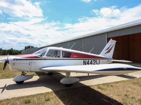 Vintage 1967 Piper Cherokee aircraft for sale