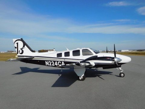 Almost new 2010  Beechcraft Baron aircraft for sale