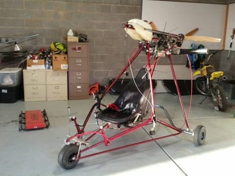 Completely rebuilt Quicksilver MX Ultralight Aircraft for sale