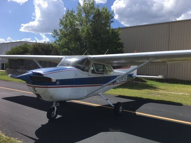 Hail damage 1972 Cessna 172M for sale
