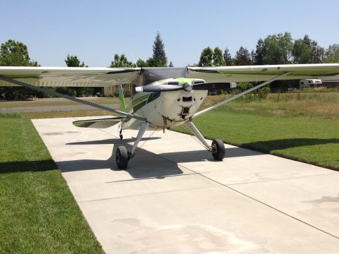 Nice vintage 1949 Luscombe airplane for sale