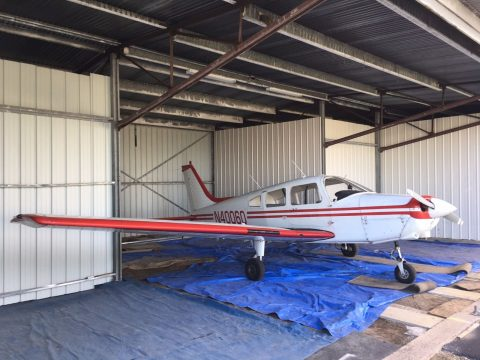 Recently serviced 1977 Piper PA-28-161 aircraft for sale