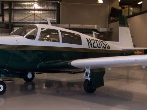 1977 Mooney M20J N201sg aircraft for sale
