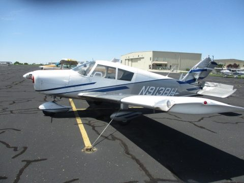 damaged 1966 Piper Cherokee 140 aircraft for sale