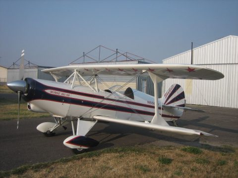 old paint 1980 Steen Skybolt aircraft for sale