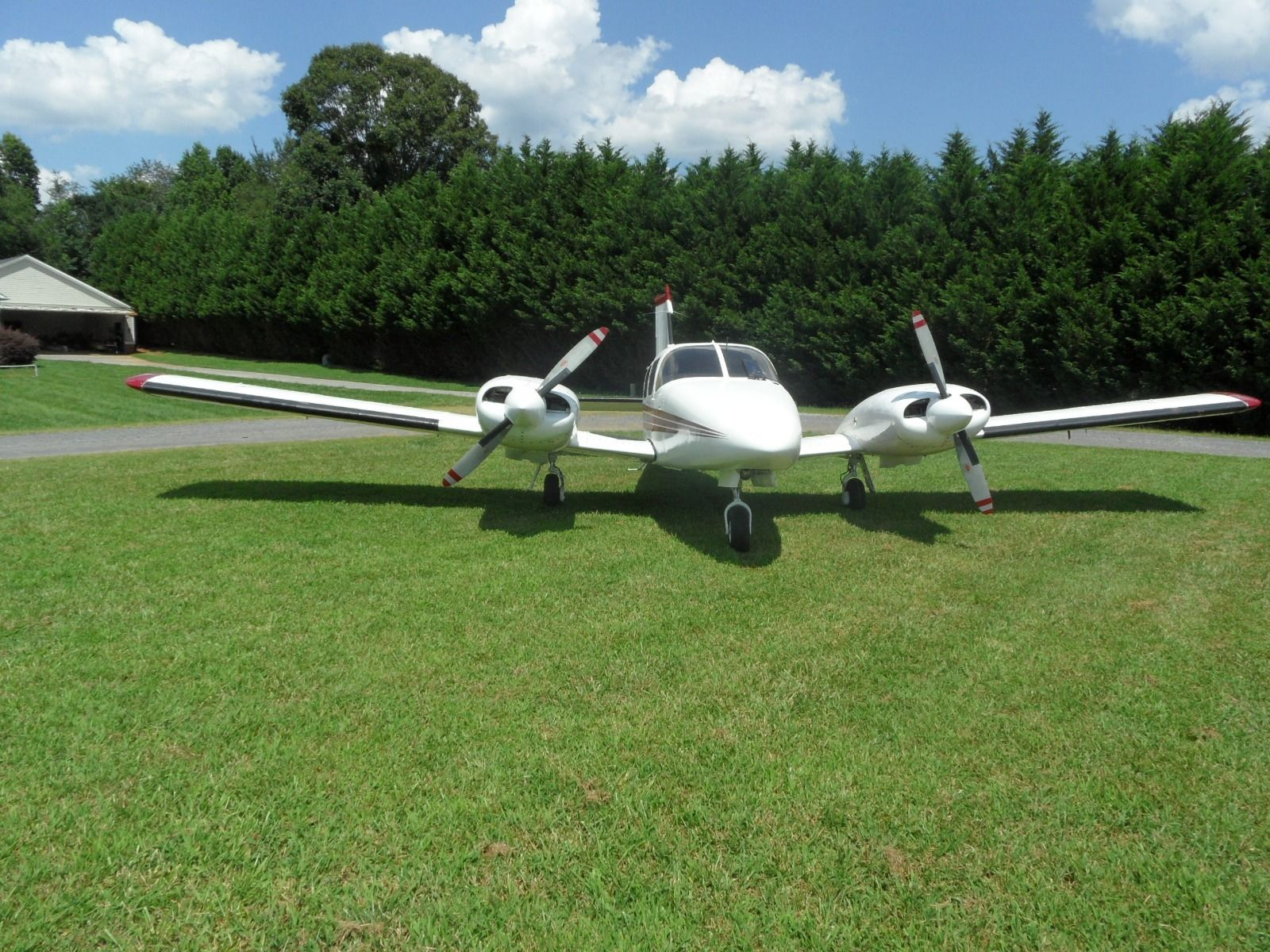 previously damaged 1975 Piper Seneca II aircraft for sale