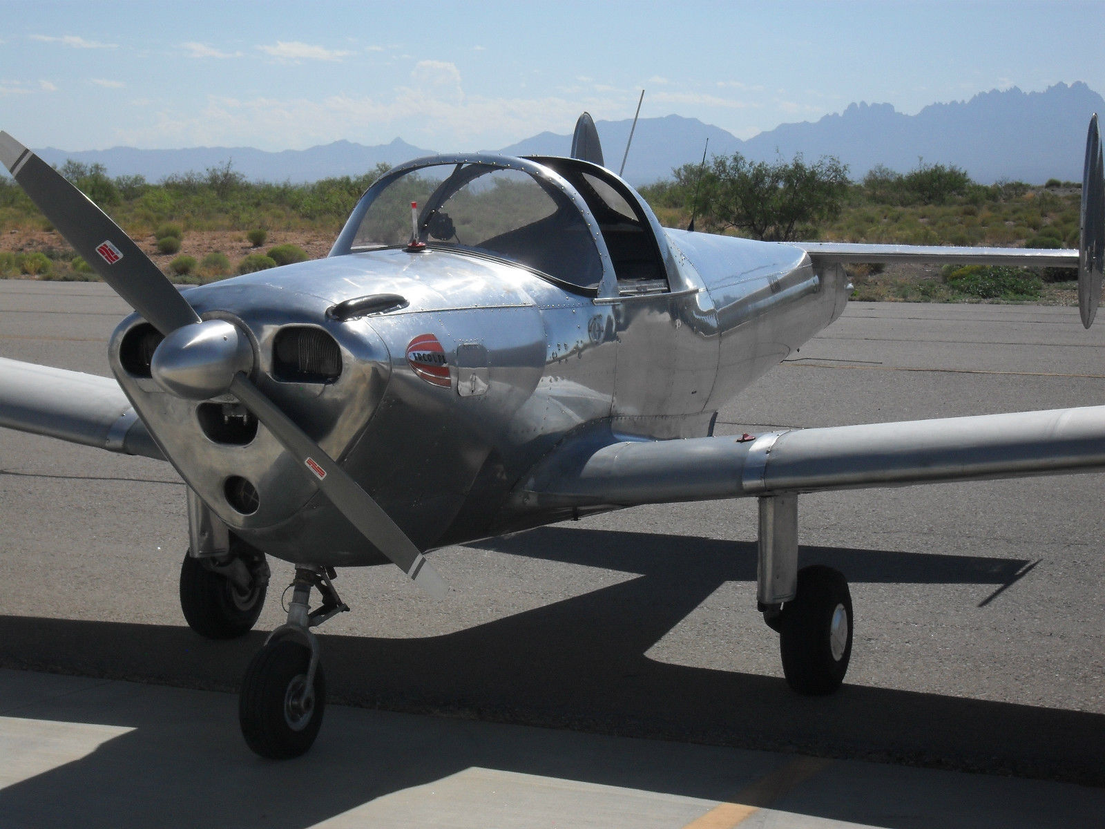 Rust free frame 1946 Ercoupe 415C aircraft for sale
