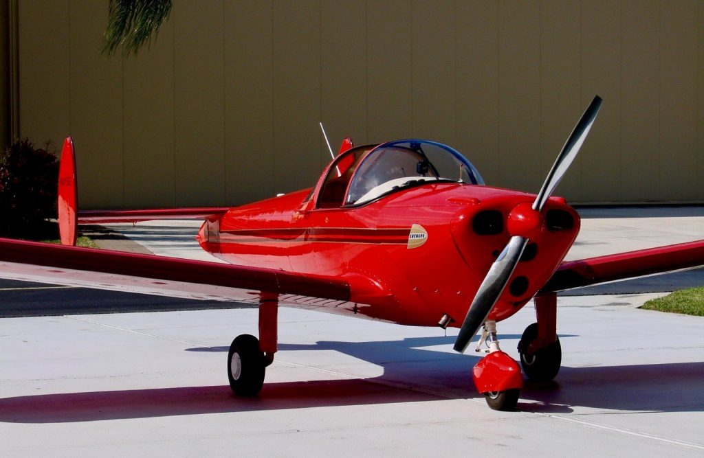 very nice 1949 Ercoupe aircraft