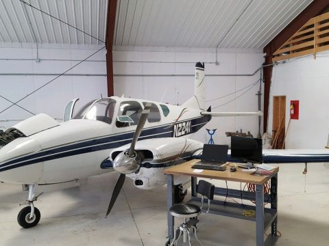 classic 1959 Beechcraft Travelair B95 aircraft for sale