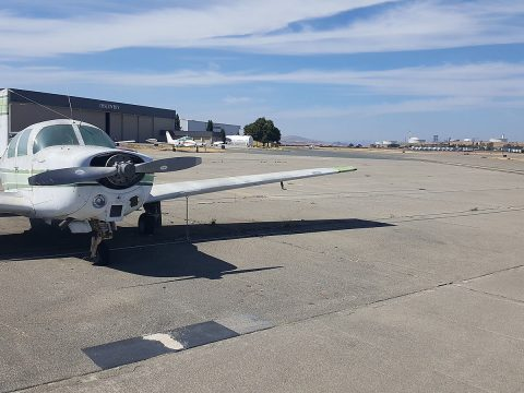 great condition 1966 Mooney M20C aircraft for sale