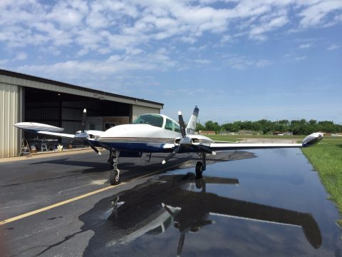 low flight time 1975 Cessna 310 R aircraft for sale