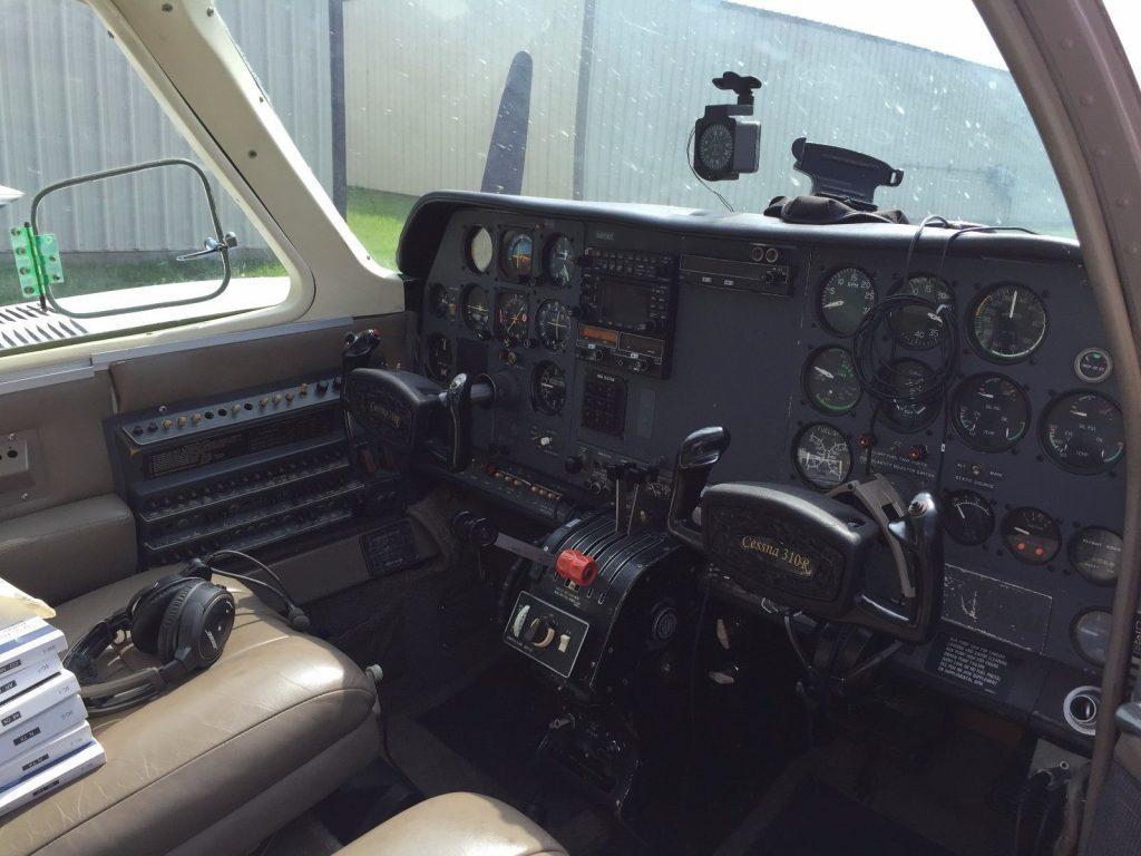 low flight time 1975 Cessna 310 R aircraft