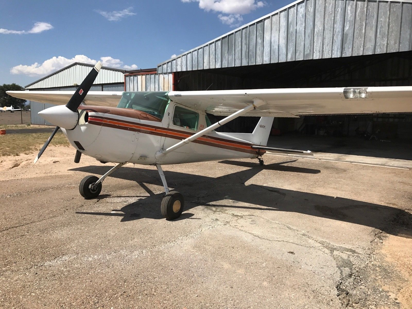no damage 1970 Cessna A150K aircraft for sale