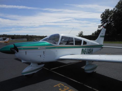 one of a kind 1973 Piper Cherokee aircraft for sale