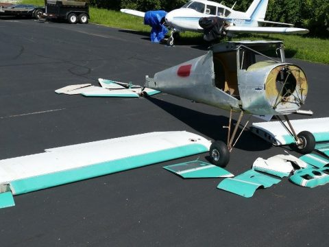 project plane 1948 Luscombe 8A aircraft for sale