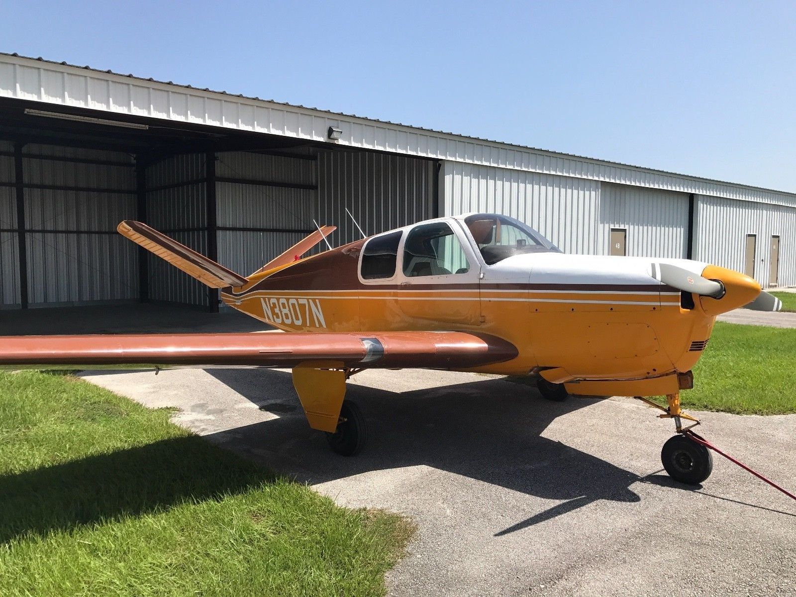 refinished 1947 Beechcraft Bonanza 35 aircraft for sale
