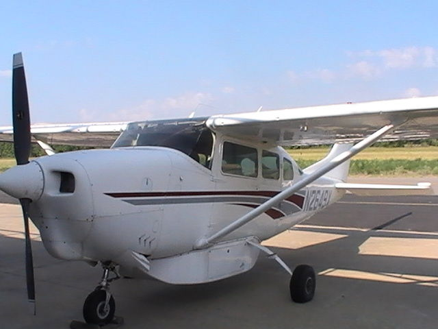 surface rust 1966 Cessna P206 Stationair aircraft for sale