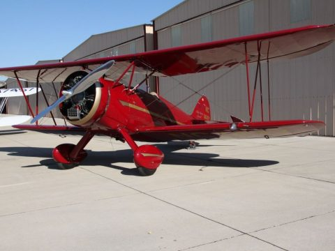 wonderfully restored 1930 WACO RNF Biplane aircraft for sale