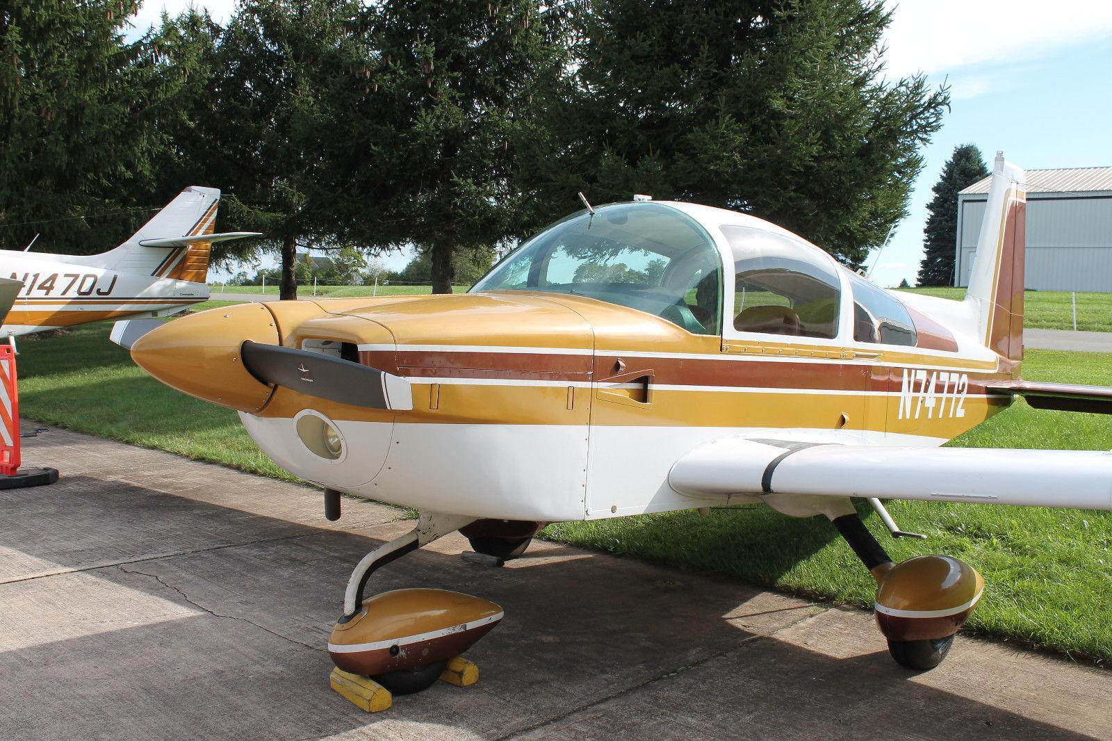 mini restoration 1976 Grumman Tiger AA 5B aircraft for sale