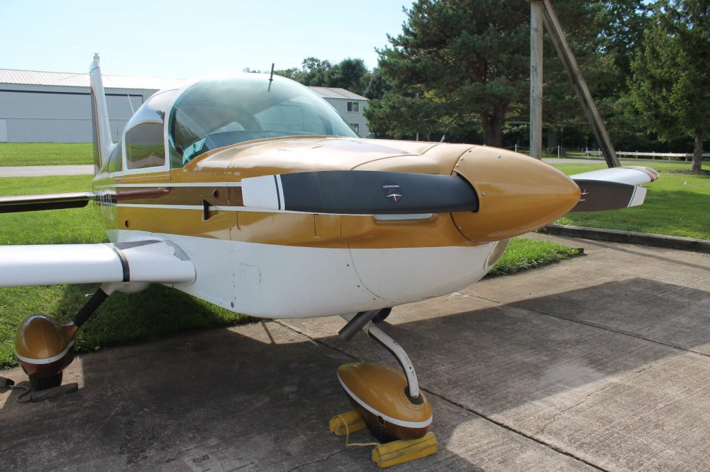 mini restoration 1976 Grumman Tiger AA 5B aircraft