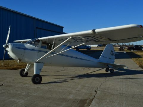 Converted 1940 Luscombe aircraft for sale