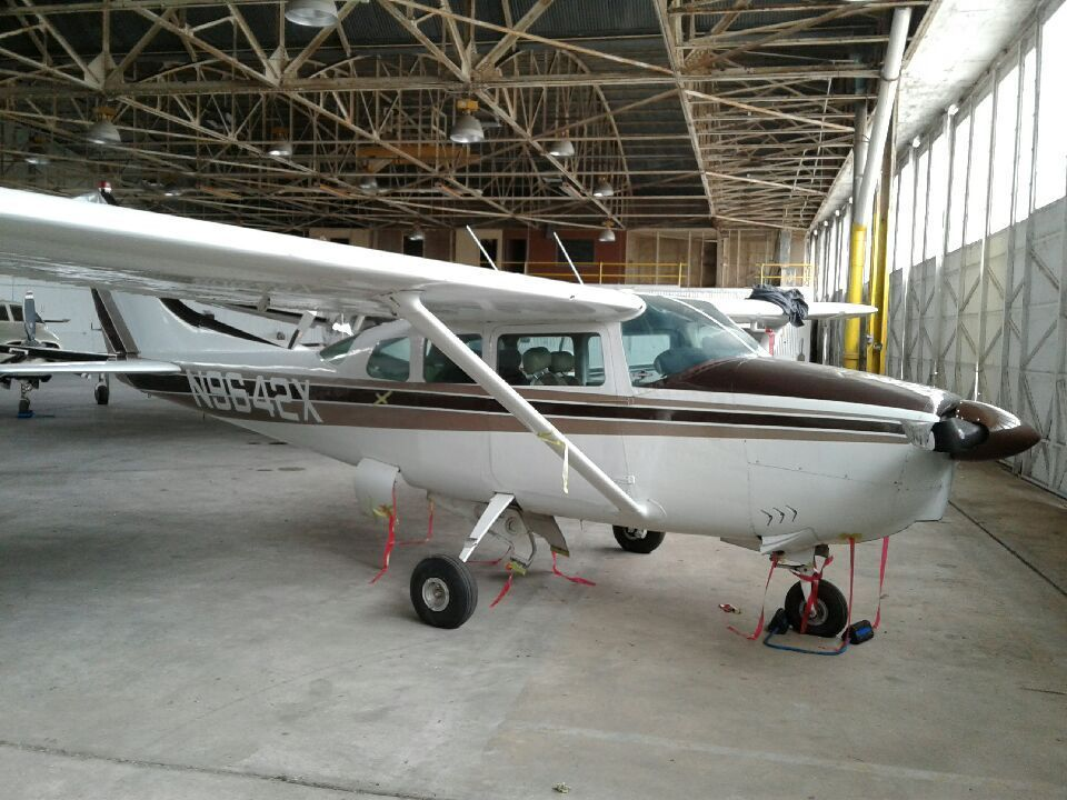 damaged 1962 Cessna 210B aircraft for sale