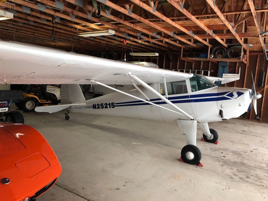 Fabric covered wings 1939 Luscombe 8A Light Sport Aircraft