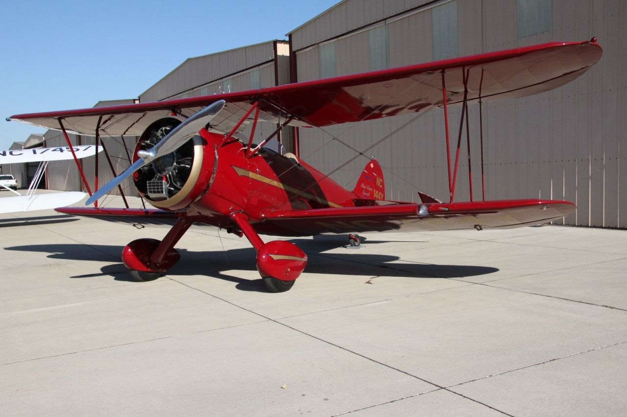 mint 1930 Waco RNF Biplane aircraft for sale