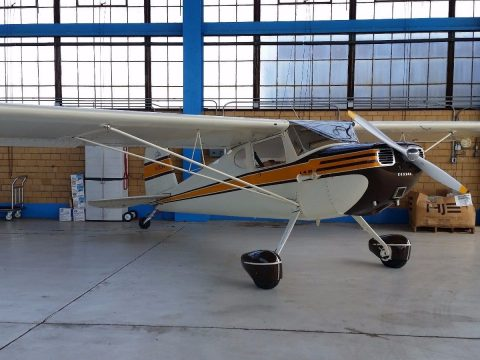 recently restored 1947 Cessna 140 aircraft for sale
