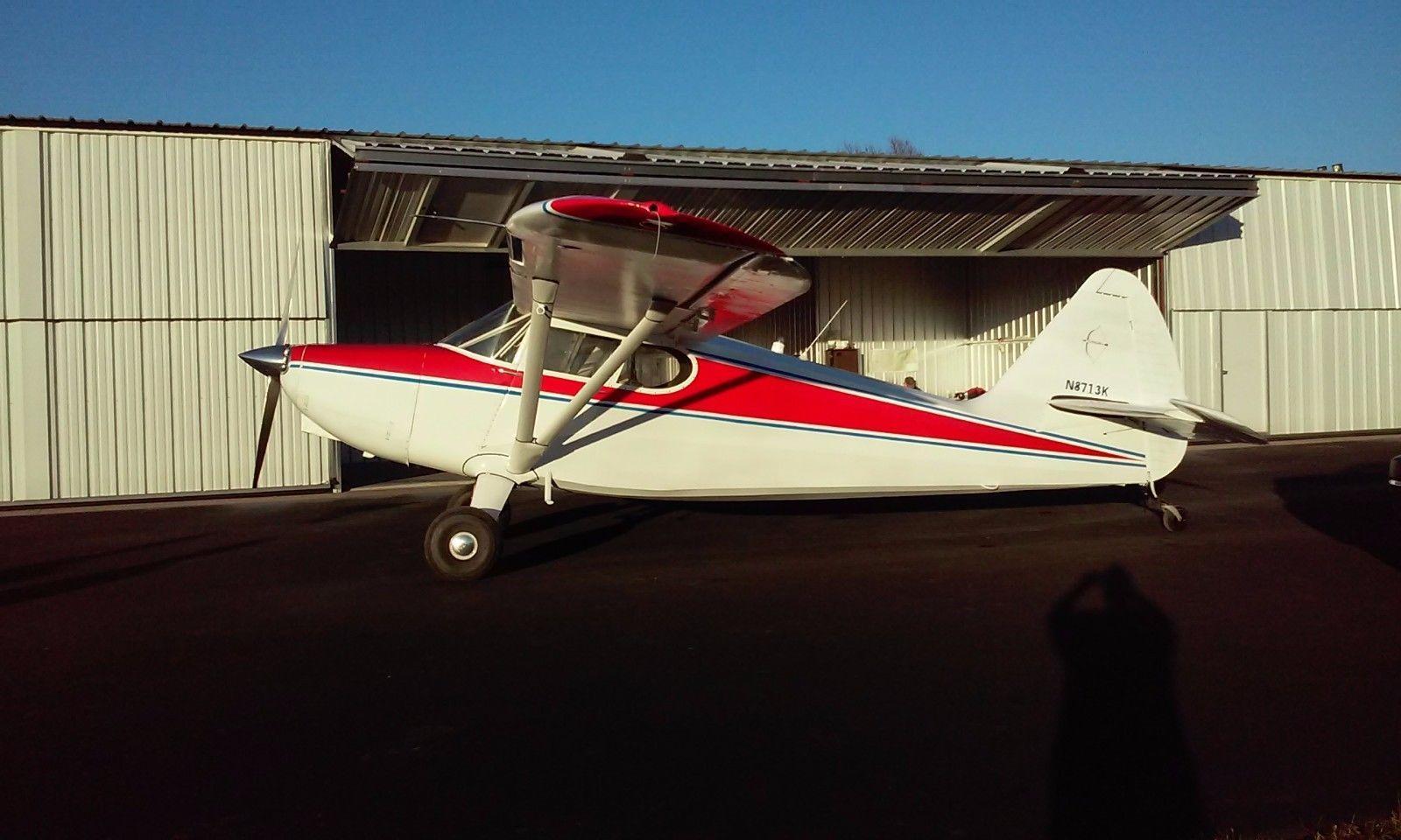 restored 1947 Stinson Voyager 108-1 aircraft