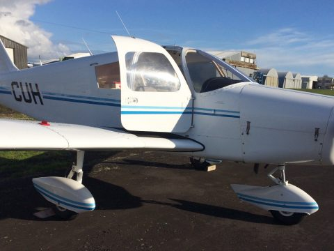 serviced 1968 Piper Cherokee 140 PA 28 160HP aircraft for sale