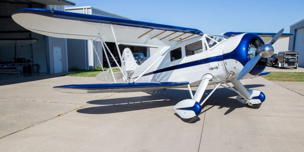 very clean 1937 Waco YKS-7 Fixed Wing Single Engine aircraft