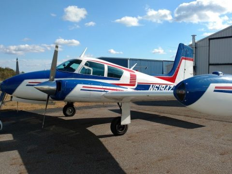 very nice 1956 Cessna C-310 Skyking aircraft for sale