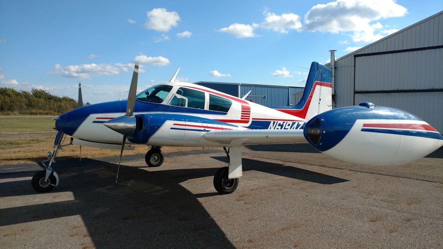 very nice 1956 Cessna C-310 Skyking aircraft for sale