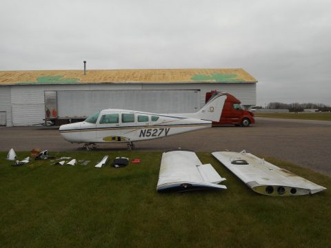 disassembled 1974 Beech B 24R Sundowner aircraft for sale