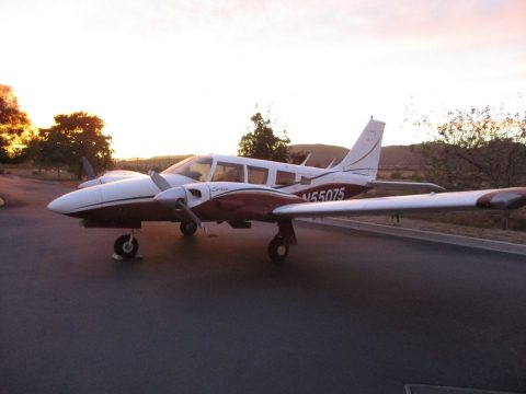 older repaint 1973 Piper Seneca I aircraft for sale