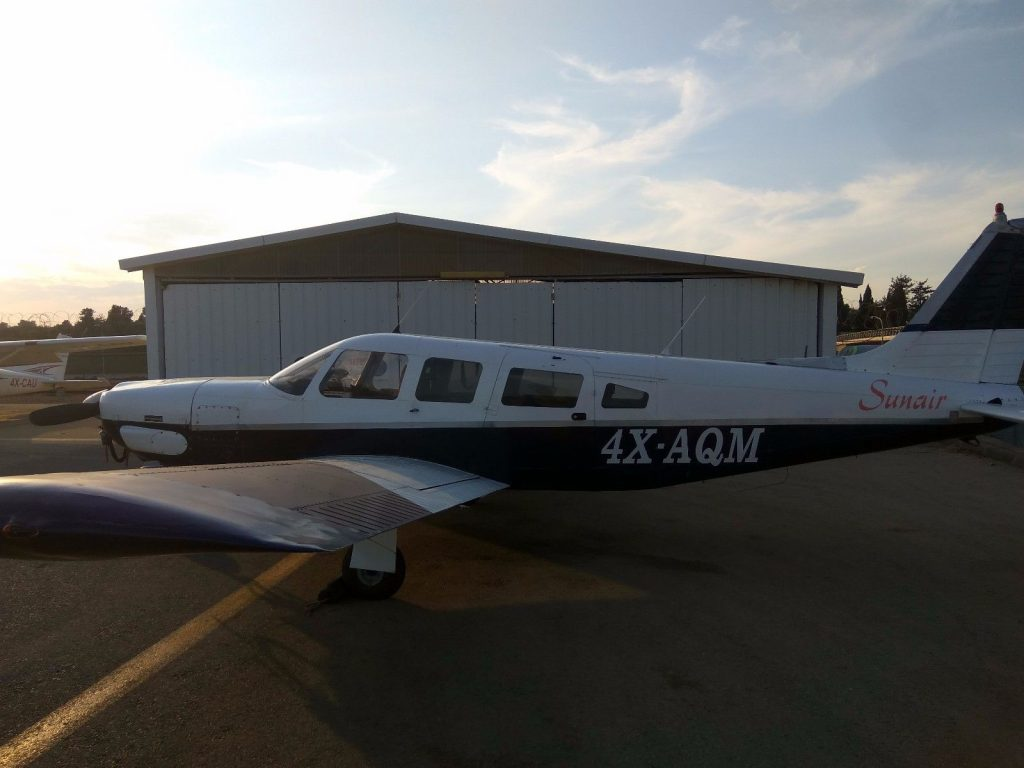 redone 1976 Piper Lance PA32 300R aircraft