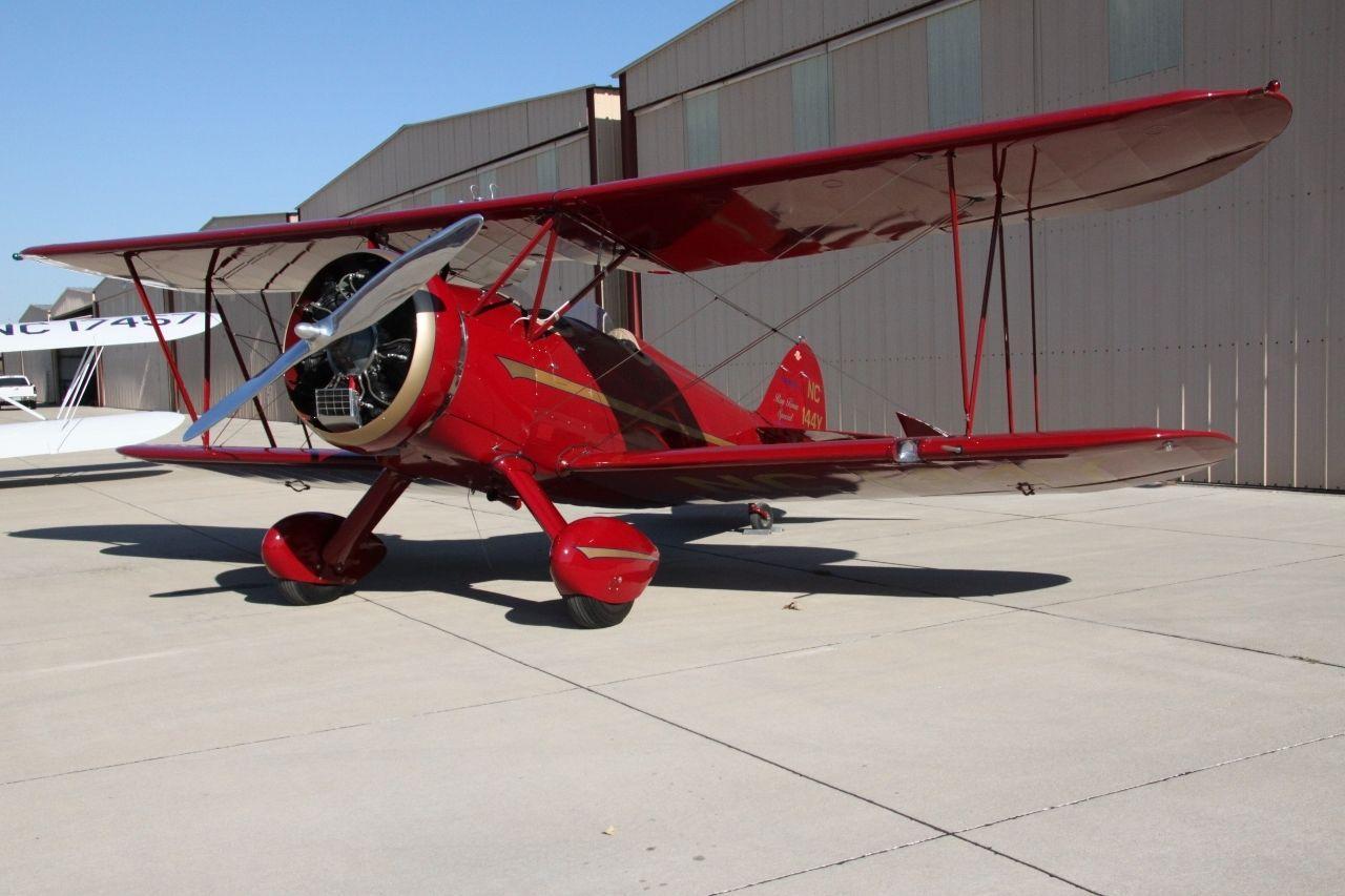 very clean 1930 WACO RNF Biplane aircraft