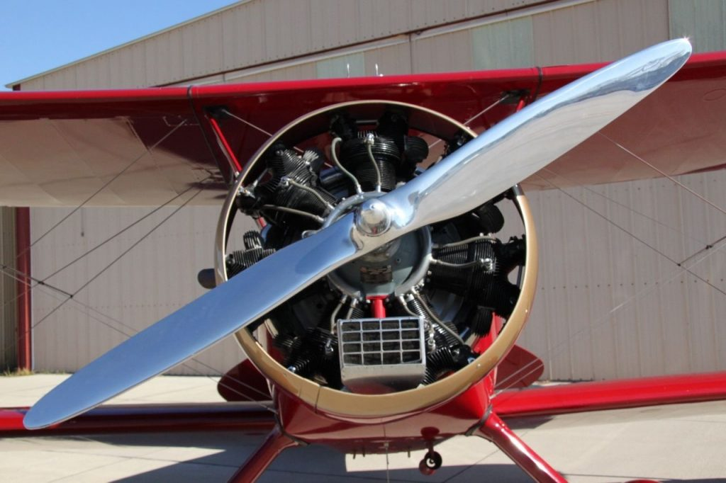 very clean 1930 WACO RNF Biplane aircraft