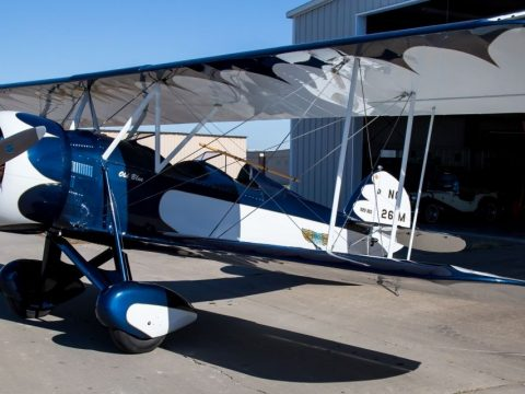 vintage 1929 WACO BSO Straight Wing Single Engine Biplane for sale