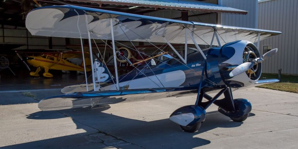 vintage 1929 WACO BSO Straight Wing Single Engine Biplane