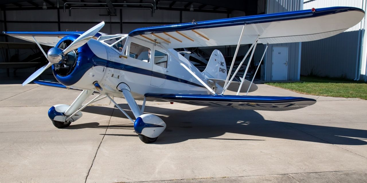 beautiful 1937 WACO YKS 7 Fixed Wing Single Engine aircraft for sale